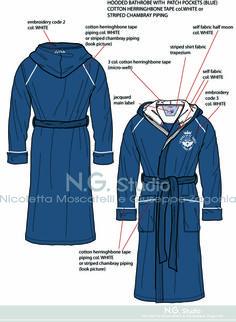 Men's bathrobe - By N.G. di Nicoletta Moscatelli Giuseppe M. Zagonia