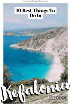 10 Best Things To Do In Kefalonia, Greece Greek Islands To Visit, Best Greek Islands, Greece Islands, Greece Itinerary, Greece Travel, Greece Cruise, Greece Trip, Places Around The World, Around The Worlds