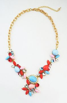 J Crew Inspired Necklace  J Crew Crystal by ShamelesslySparkly, $20.90