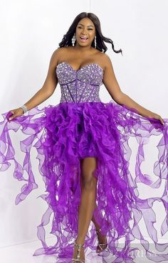 purple is one of the best prom dress colors for 2013 and the blush