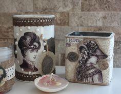 craftsandcakes: Geri kazanım-çay kutuları