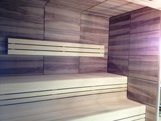 Sauna by KWS Spa, Wellness, Blinds, Curtains, Home Decor, Decoration Home, Room Decor, Shades Blinds, Blind