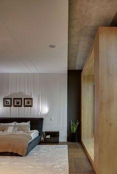 Industrial Chic: Apartment in Odessa Embraces Cozy, Space-Savvy Design www.bocadolobo.com #bocadolobo #luxuryfurniture #interiodesign #designideas