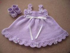 Free Crochet Baby Dress Patterns   Handmade Designer Baby Clothes - Handmade Designer Baby Clothes