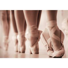 Pale Pink Ballet Slippers--art for the wall. :)