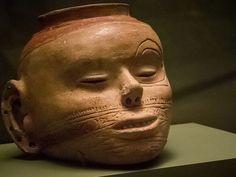 Mississippian effigy jar