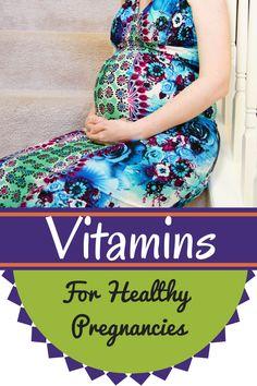 Vitamins for Healthy Pregnancies | Modern Alternative Mama