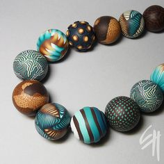 Turquoise Necklace by E.H.design, via Flickr