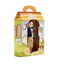Kite Flyer Finn Boy Doll – Lottie Dolls : see more at http://www.lottie.com/collections/all-products/products/kite-flyer-finn-boy-doll