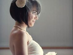 Des Modèles De Coiffure Mariage Pour Cheveux Courts