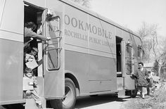 New Rochelle (N.) Public Library bookmobile, I used these in the all the time up in Mass. Library Week, Library Books, Grammar Humor, Grammar School, New Rochelle New York, Good Books, Books To Read, Shandy, Word Nerd