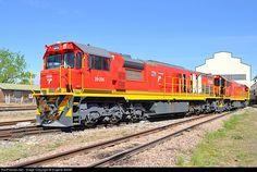 RailPictures.Net Photo: 39-206 Transnet Freight Rail Class 39-200 (EMD GT26CU-3) at Pretoria, Gauteng province, South Africa by Eugene Armer