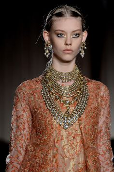 Cheaper by the Dozen: Marchesa 2013- The Indian inspiration.