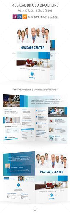 Spa Bifold / Halffold Brochure 7 Pinterest Brochures, Brochure - half fold brochure template