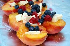 Peach Mallows are a yummy option for dessert!    #pitfirefood #udderlysmooth http://www.mnn.com/food/recipes/photos/gourmet-backpacking-dessert-recipes/peach-mallows