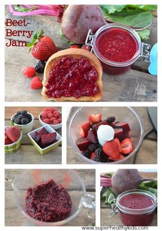 Make your own jam- with benefits from Beets! Super Healthy Kids