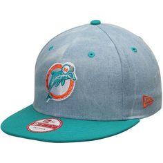 Men's Miami Dolphins NFL Athlete Designed 9FIFTY by Kenny Stills New Era Aqua Snapback Adjustable Hat