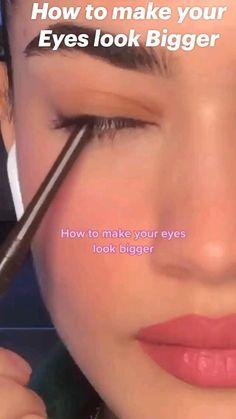 Cute Makeup Looks, Makeup Eye Looks, Eye Makeup Art, Contour Makeup, Eye Makeup Tips, Smokey Eye Makeup, Skin Makeup, Beauty Makeup, Edgy Makeup