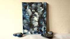 Small art canvas stars galaxy art abstract art by TheLuckyStones Galaxy Art, Small Art, Abstract Art, Canvas Art, Unique Jewelry, Handmade Gifts, Stars, Painting, Etsy