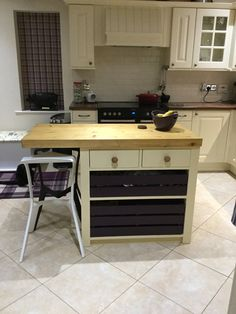 Buy Heart Of House Tollerton Wooden Kitchen Trolley At