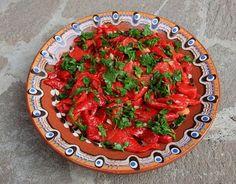Печени чушки с чесън (Roasted Peppers with Garlic)
