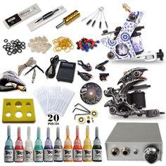 XMAS Gift Best Tattoo Kits 10 Tattoo Ink New Style Machine [DIY-244(1.5)] - US$52.59 : Dragonhawk tattoo supplies, tattoo kits,tattoo machines for sale global form www.tattoodiy.com