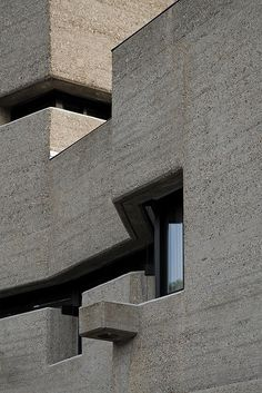 gottfried böhm, bensberg town hall, 1962-1967 by seier+seier, via Flickr