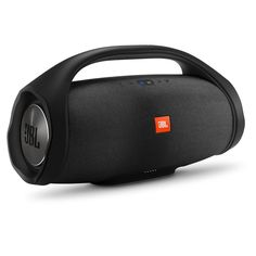 JBL will reveal this huge new Bluetooth boombox at IFA 2017 in a few weeks' time. The speaker, which kind of looks like an boombox from the future, would be the largest in JBL's portable. Best Wireless Speakers, Wireless Bluetooth, Waterproof Bluetooth Speaker, Audio Speakers, Loudest Portable Speakers, Bluetooth Gadgets, Boombox, Logitech, Usb