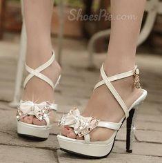 Must Have! Graceful Bowknot Rhinestone Dress Sandals #elegantshoegirl #shoes #ankle  #boots #flats #fashions #womens Rhinestone Dress, Dress Sandals, Girls Shoes, Valentino, Ankle Boots, Flats, Elegant, Heels, Dresses