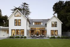 creamy white exterior/metal roof/Top Commercial & Residential Sustainable Architecture Firm   Architect in SF Bay Area