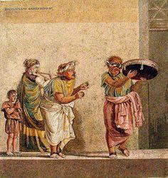 #Pompeii  --  Roman Mosaic  --   Excavated from the 'Villa del Cicerone' @ Pompeii.