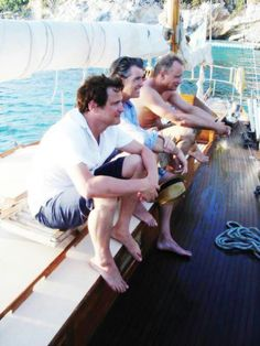 Colin, Pierce and Stellan in Mamma Mia
