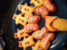 teddies, butterflies and flip flop biscuits