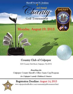 The 11th Annual Pepper Open Golf Tournament will be held Monday, Sept. 23, 2013!