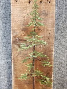 Best Indoor Garden Ideas for 2020 - Modern Farmhouse Christmas Decor, Primitive Christmas, Rustic Christmas, Christmas Art, Christmas Projects, Cabin Christmas, Winter Christmas, Xmas, Pine Tree Painting