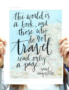 Best travel quote ever? Ashley Aliprandi -AUTHOR, COACH, ENLIGHTENED HAPPINESS LEADER #healing #travelquotes