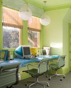 Stylish homework space - kitchen or playroom?