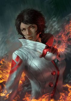 Candela by BillCreative on DeviantArt - Pokemon Pokemon Go Teams Leaders, Pokemon Go Team Valor, Real Pokemon, Pokemon Gif, Pokemon Stuff, Deviantart Pokemon, Pokemon Universe, Female Images, Cool Drawings