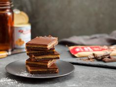 The AWW Test Kitchen have triple tested this salted caramel chocolate slice…