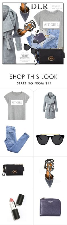 """""""DLRBOUTIQUE.com"""" by monmondefou ❤ liked on Polyvore featuring MANGO, 7 For All Mankind, Smoke & Mirrors, Valentino, Sigma Beauty, Yves Saint Laurent, women's clothing, women's fashion, women and female"""