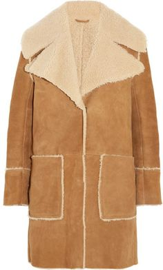 Draped Sheepskin Coat | My Fur Collection❤ | Pinterest | Coats ...