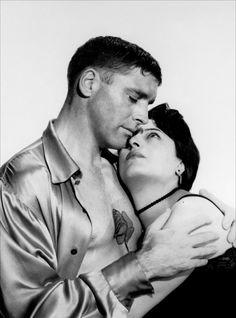 THE ROSE TATTOO - Anna Magnani & Burt Lancaster