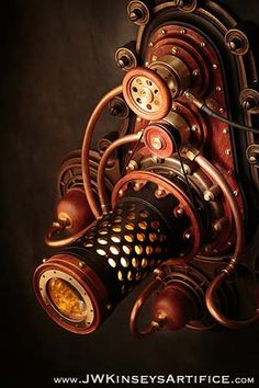 la lanterne de Braxtonian : un steampunk par JWKinseysArtifice