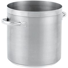 TableTop king 77620 Tri Ply 24 Qt. Stainless Steel Stock Pot