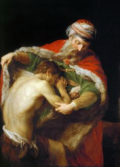The Return of The Prodigal Son Pompeo Batoni, 1787