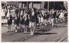 Bjelke-Petersen participating in street parade