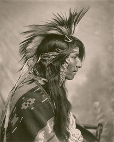 Cree indian. 1903.
