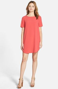 cupcakes and cashmere 'Magnolia' Shift Dress available at #Nordstrom