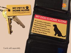 Emergency Pet Keyring Tag – The Pet Care Card