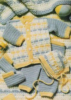 Crochet Set Pattern (translator)